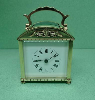 Antique French Oblong Cased 8 Day Carriage Clock Circa Early 1900's