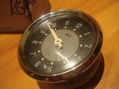 Rare Kohler Clock 8 Days Nos - Vw Split Samba Bus Bug - Porche 356 From 50´s