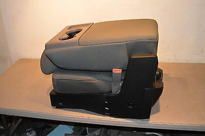 NICE!!! 2015-2016 FORD F150 CENTER JUMP SEAT//CONSOLE GRAY CLOTH OEM NEW