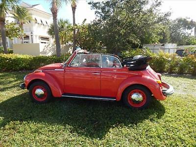 bug -- 1975 Volkswagen bug  0 Miles Red Other  Other