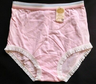 Vintage Melody Cotton Panties Full Cut Girls Briefs 12