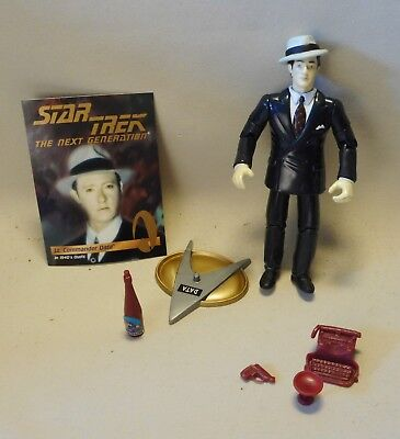 Vtg 90s Star Trek Action Figur LT. COMMANDER DATA 1940´s Outfit Playmates Toys
