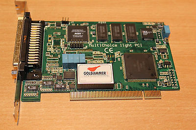 Messkarte Goldammer MultiChoice Light PCI G06-1003-0