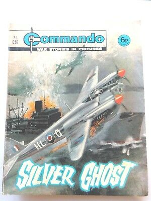 Commando Comic 658  Silver Ghost  War Stories In Pictures