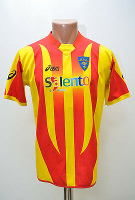 Us Lecce Italy 2000`s Home Football Shirt Jersey Asics S Adult