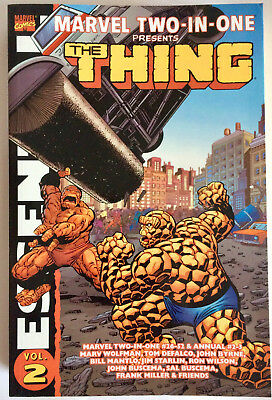 Essential Marvel Two-in-One Volume 2