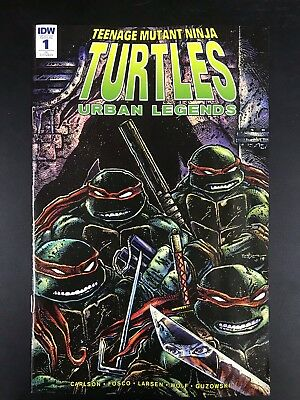 TMNT Urban Legends #1 1:10 Retailer Incentive Variant Cover by Kevin Eastman!