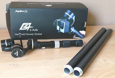 FEIYU TECH FY G4 3 AXIS HAND HELD STEADY CAM HANDHELD GIMBAL + more accessories