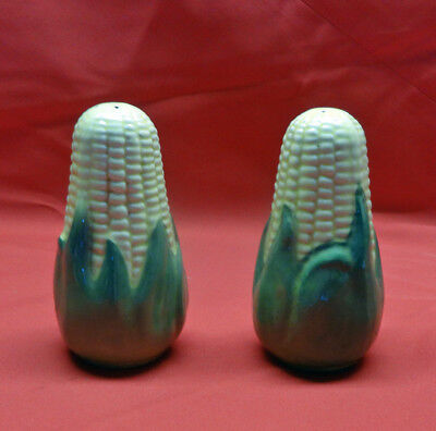 Shawnee Corn King 2 Salt and Pepper Shakers 5 1/2""