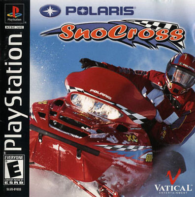 SONY PlayStation PS1 PSOne Polaris SnoCross (GAME DISC ONLY)