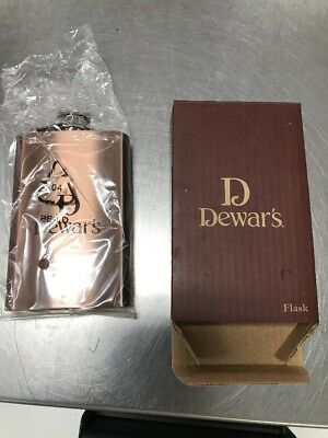 brand New Dewar's Copper Flask