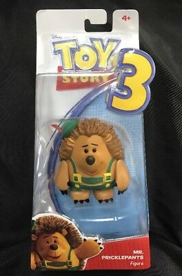 Disney Pixar Toy Story 3 Mr. Pricklepants Posable Action Figure  2009 Mattel