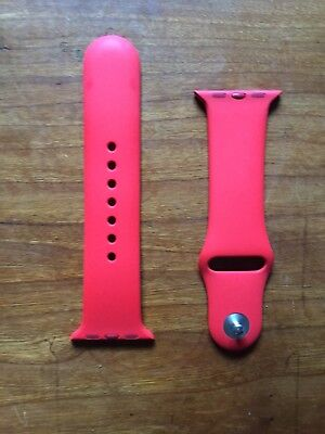 Official Apple Watch Sport Band (Product) Red Authentic Store Bought 38mm