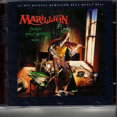 "MARILLION ""Script for a jester's Tear"" 1 CD Digital Remastered + Bonus Disc RARE"