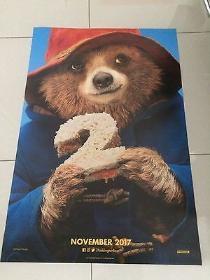 paddington 2 original onesheet movie poster ds 27x40 in mint condition