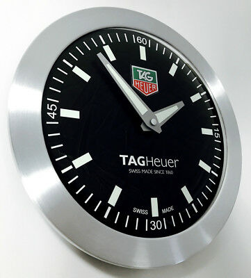 Tag Heuer F1 Advertising Dealers Showroom Display Wall Clock