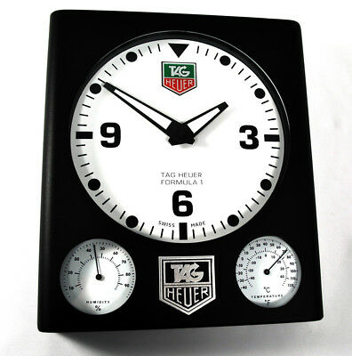 Tag Heuer Formula 1 Advertising Dealers Showroom Display Wall Clock