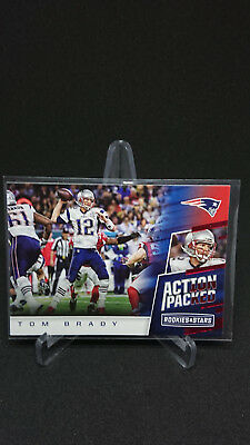 2017 Rookies and Stars Action Packed #10 Tom Brady
