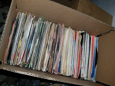 "Lot Of 50 Country and Western 45's Records Jukebox 7"" 45rpm, Honkytonk & More"