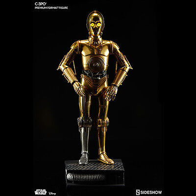 SIDESHOW Star Wars C-3PO Premium Format Figure Statue NEW - SEALED