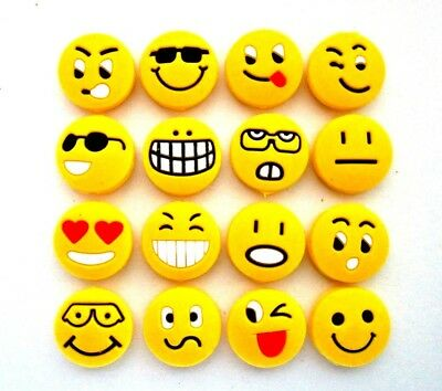 16 Wilson Emoji Emoticon Tennis Vibration Shock Absorber Dampeners Emotisorbs