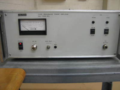Ailtech Model 15100 Broadband Power Amplifier 500Mhz To 1000Mhz 10W And 40W