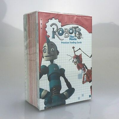 Inkworks Robots The Movie Complete 90 Card Common Base Set