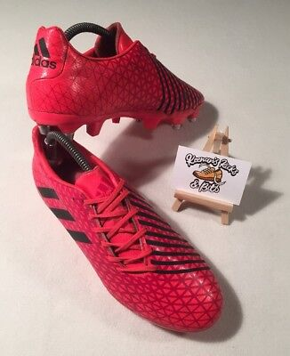 Adidas Malice SG Boots Rugby Boots UK 8.5 'UNION LEAGUE PRO FOOTBALL'