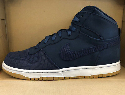 MEN'S BIG NIKE HIGH LUX SHOES midnight navy 854165 400