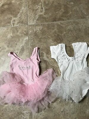 Girl Kids Toddler Ballet Dress Leotard Tutu Skirt Dance Ballerina Costumes 2T