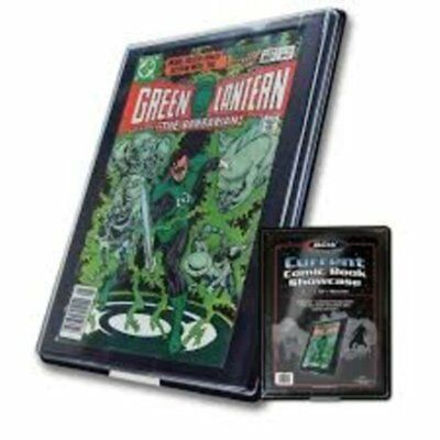 (1) Bcw Current Age Comic Book Showcase Wall Mountable Display Frame Holder