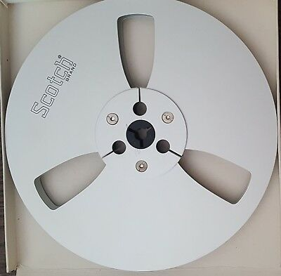"""Scotch 7"""" Metal Take Up Reel To Reel for Pioneer / Akai etc Ex condition clean"""