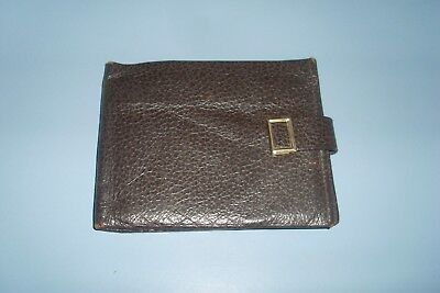 Vintage Retro 60s Genuine Pig Skin Lord Buxton Bi-Fold/Slimfold Gents Wallet