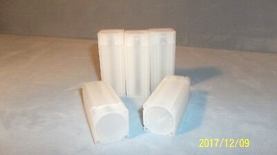 NEW-THREE (3)-Numis Square Coin Tubes by Meghrig-Quarters