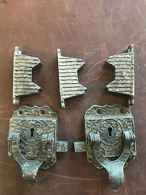 Antique Icebox Hardware/ Latches