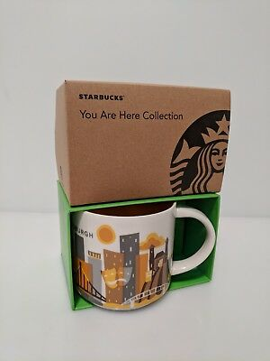 Starbucks Pittsburgh YOU ARE HERE Collection Coffee Mug - NEW IN BOX