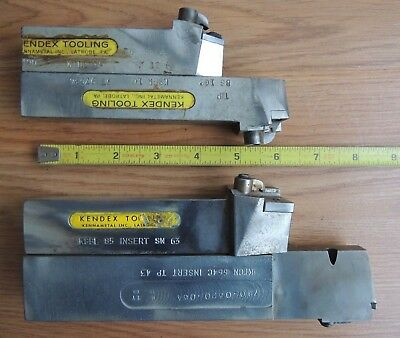 KENDEX KENNAMETAL lathe tool holders / machinist tools