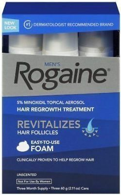 Rogaine for Men Hair Regrowth Treatment with Easy-to-Use Foam - 2.11 oz