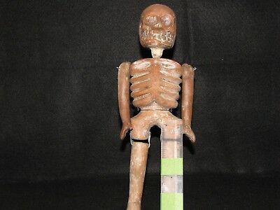 """Post Columbian, Pottery, Mexican """"Day of the Dead"""" Pottery Figure, 18-19th Cent."""