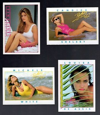 1992 Portfolio Swimsuit Issue  Complete Set Of 50 Cards Mint