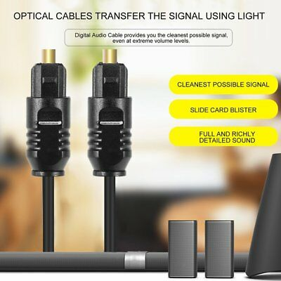1.8 M Digital Optical Fiber Optic Toslink Audio Cable Connect Cable Cord Tools