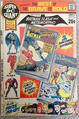 The Brave And The Bold #S-16 (1970) DC! Batman/Flash/Metamorpho! PRICED TO SELL!