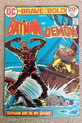 The Brave And The Bold #109 (1973) DC!  Batman/Demon!  PRICED TO SELL!
