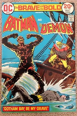 The Brave And The Bold #109 (1973) DC! Batman/Demon! Affordable! PRICED TO SELL!