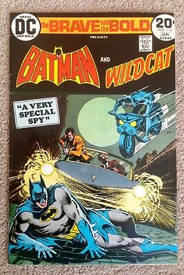 The Brave And The Bold #110 (1973/74) Batman/Wildcat! Nice Copy! PRICED TO SELL!