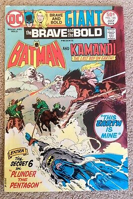 The Brave And The Bold #120 (1975) DC!  Batman/Kamandi!  PRICED TO SELL!