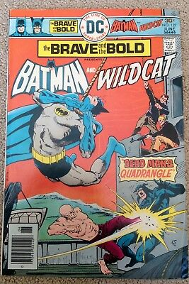 The Brave And The Bold #127 (1976) DC!  Batman/Wildcat!  PRICED TO SELL!
