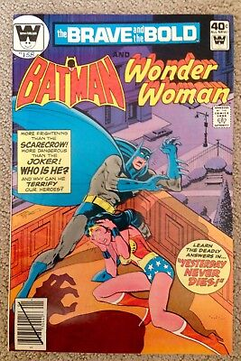 The Brave And The Bold #158 (1980) Wonder Woman! Whitman Variant! PRICED TO SELL