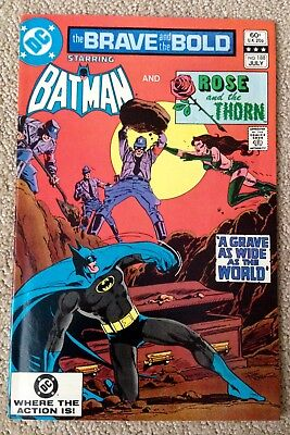 The Brave And The Bold #188 (1982) DC! Batman/Rose And The Thorn! PRICED TO SELL