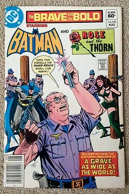 The Brave And The Bold #189 (1982) DC! Batman/Rose And The Thorn! PRICED TO SELL
